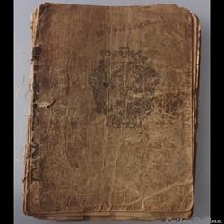 cahier de chanson illustré de poilu  guerre de 14 / 18 Besançon ( fort  Benoit )