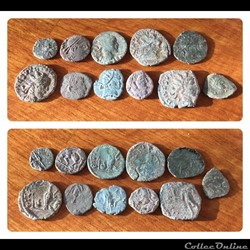 Barbarous Imitative coins from the UK.