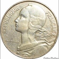 Monnaies Cinquième République (1958 - 2001)