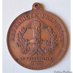 Médaille et Jeton Cercle et Ordre Cheval...