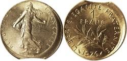 monnaies française fauté