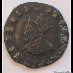 Monnaies de Charles X cardinal de Bourbon