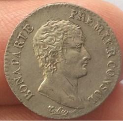 Monnaies du consulat et de Bonaparte  premier consul