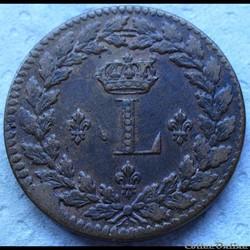 Monnaies Louis 18