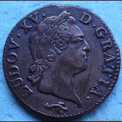 Monnaies Louis 15
