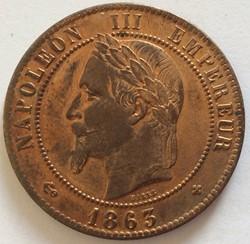 Monnaies à la tête laurée  de Napoléon III