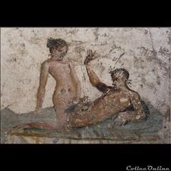 "Jetons de "" bordel "" romain - Tessère spintrienne"