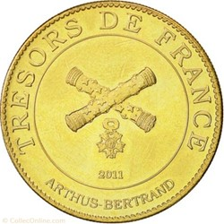 jetons touristiques Arthus-Bertrand