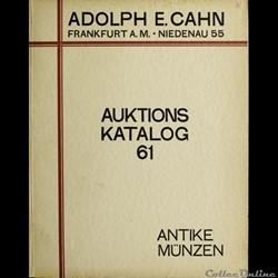 Cette rubrique liste les plus importants catalogues de ventes de monnaies grecques que je possède.