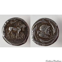 Monnaies en Argent et Or de Sicile et Grande Grèce