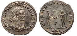 Attribution and order of display of Probus coins from the mint of Antiochia is based on RIC V.2.Classification of busts is based on the fundamental work of Pierre BASTIEN, Le...