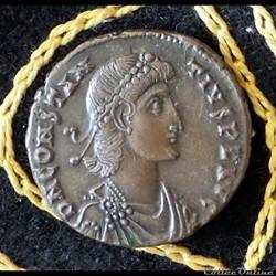 CONSTANCE II ses Césars et ces opposants à Aleth