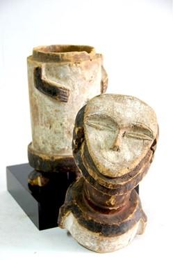 Statuettes/Reliquaires Corps réceptacles.