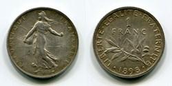 Pièces monnaies Francs Français