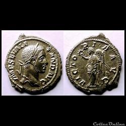 Monnaies romaines : les Sévères (193 à 2...