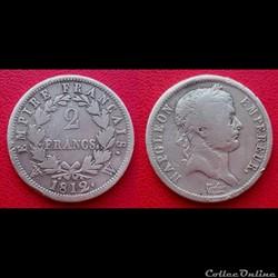 Monnaies Françaises Premier Empire (1804...