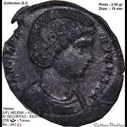 HELENE  Naissancevers 248-250 à Depranum en Bithynie Décèsprobablement 18 août 330  à Nicomédie