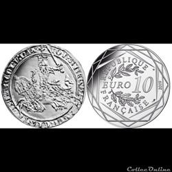 10 euros argent 2019