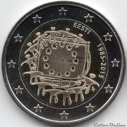 2 euros estonie