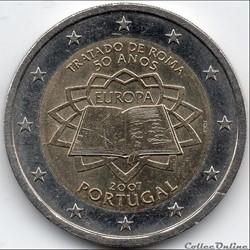 2 euros - portugal  2007