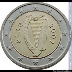 2 euros irlande