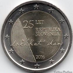 2 euros slovenie