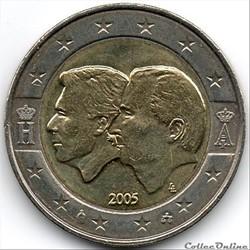 2 euros - belgique