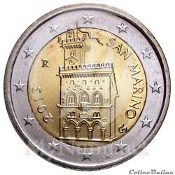 2 euros - saint-marin