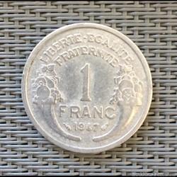 Francs 1946-1958 début 59 quatrième république