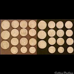 Monnaies issues de coins du studio Lipanoff