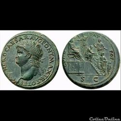 Monnaies antiques regravées