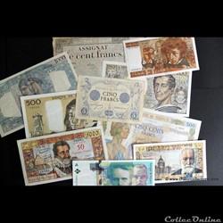 billets francais