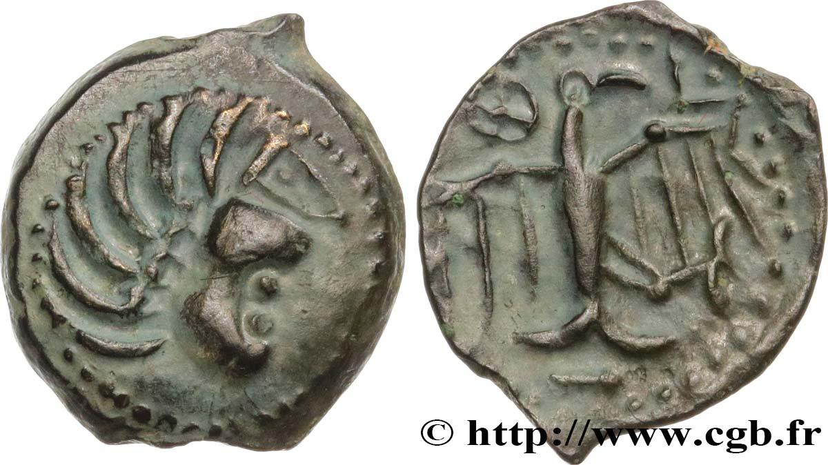 Bronze à l'aigle et à la rouelle